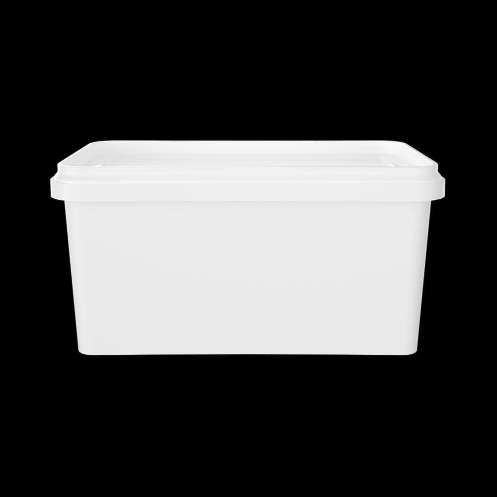 KPP1000 - Boîte Rectangulaire Colorée 1080 ml