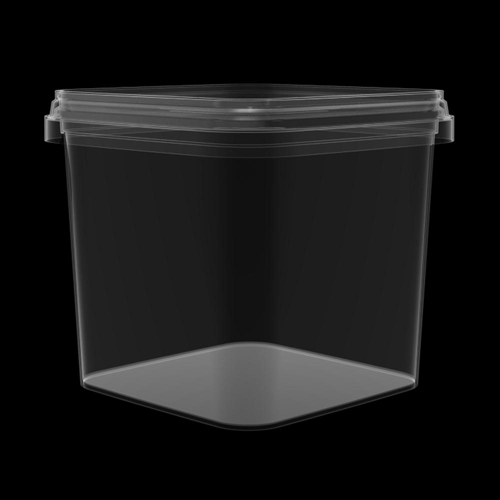 KPP500  - 540 ml Transparent Corner Box